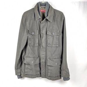 Merona Gray Green Light Utility Jacket